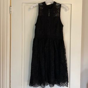 NWT Altard State Black Lace Dress